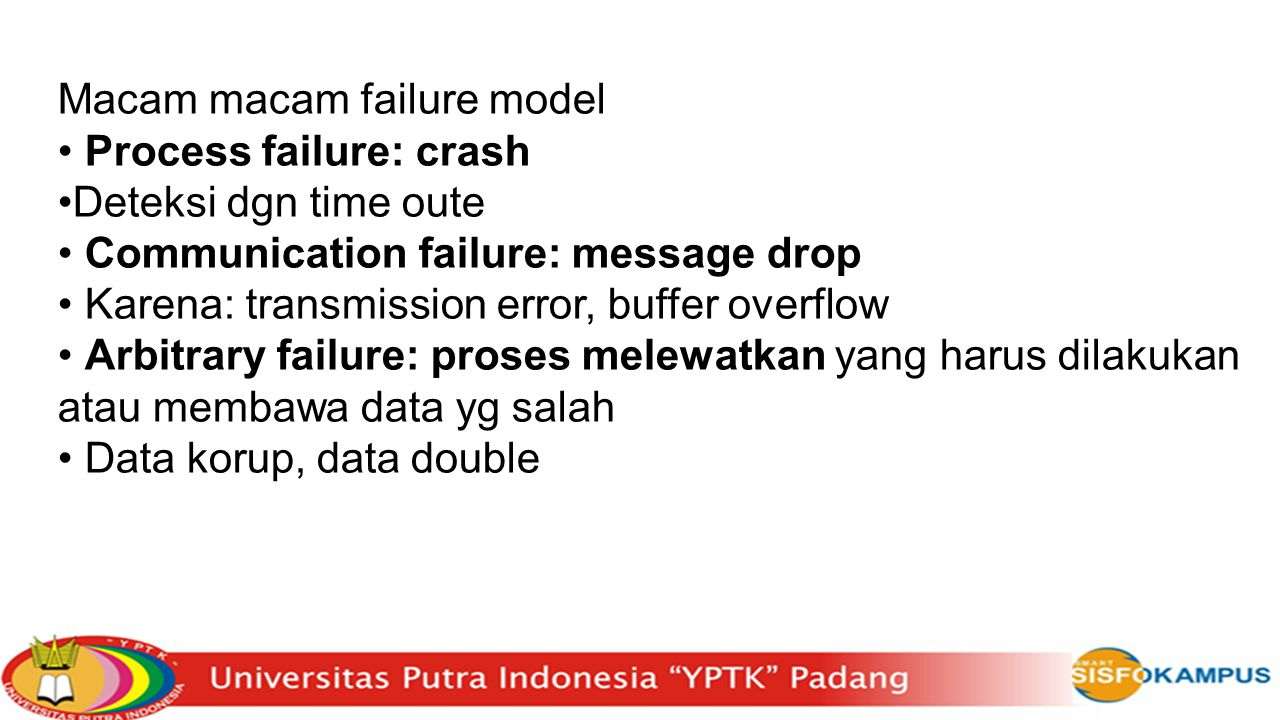 Macam macam failure model