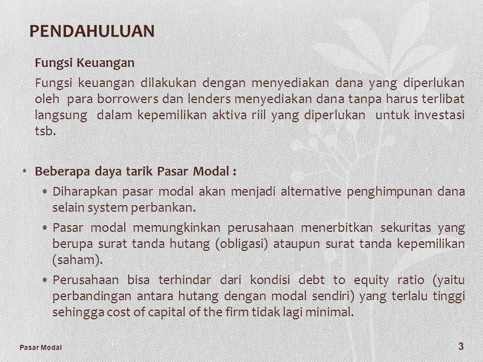 PENDAHULUAN Fungsi Keuangan
