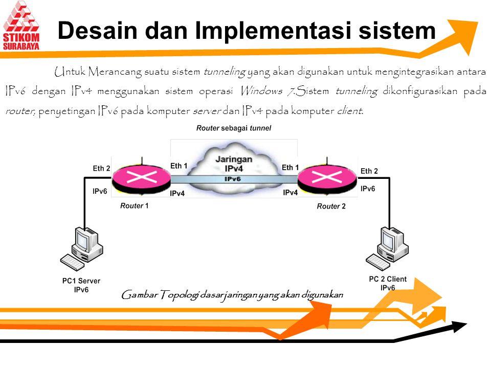 Desain dan Implementasi sistem