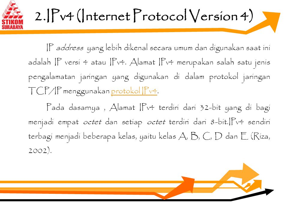 2.IPv4 (Internet Protocol Version 4)