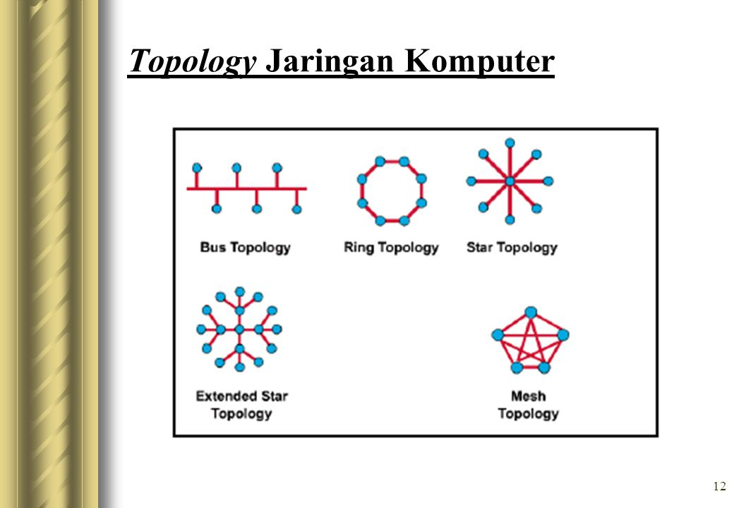 Topology Jaringan Komputer