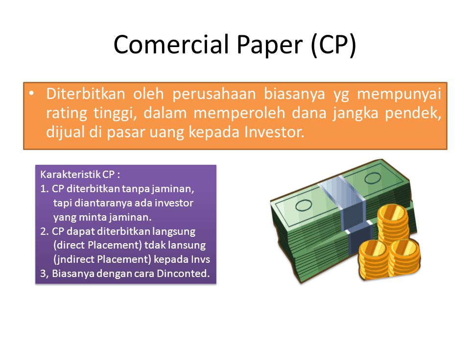 Comercial Paper (CP)