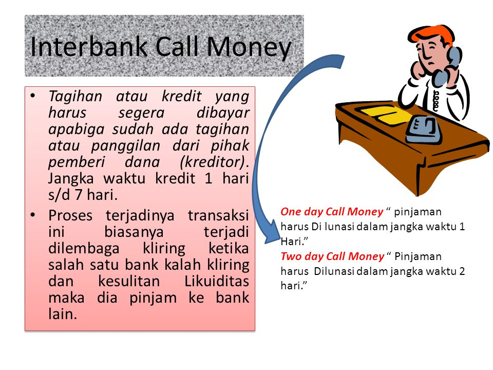 Interbank Call Money
