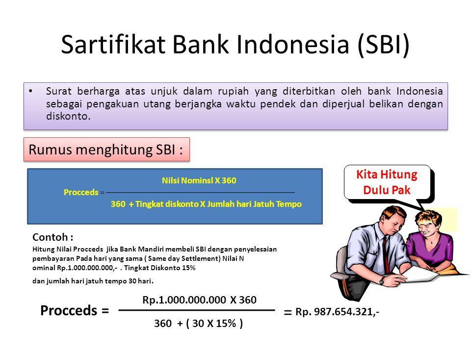 Sartifikat Bank Indonesia (SBI)