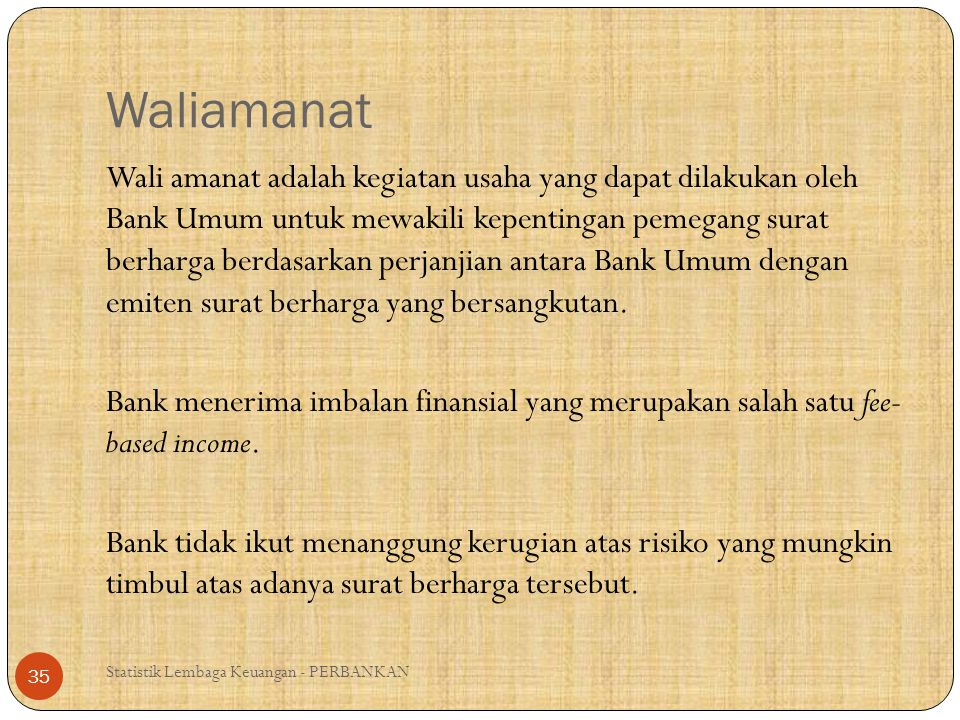 Waliamanat