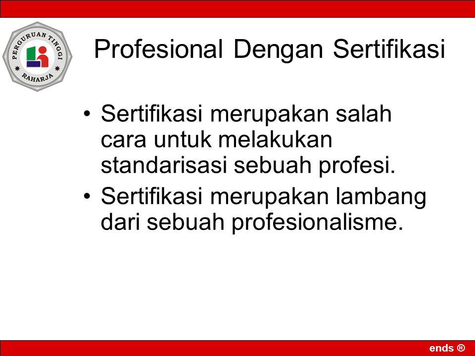Profesional Dengan Sertifikasi
