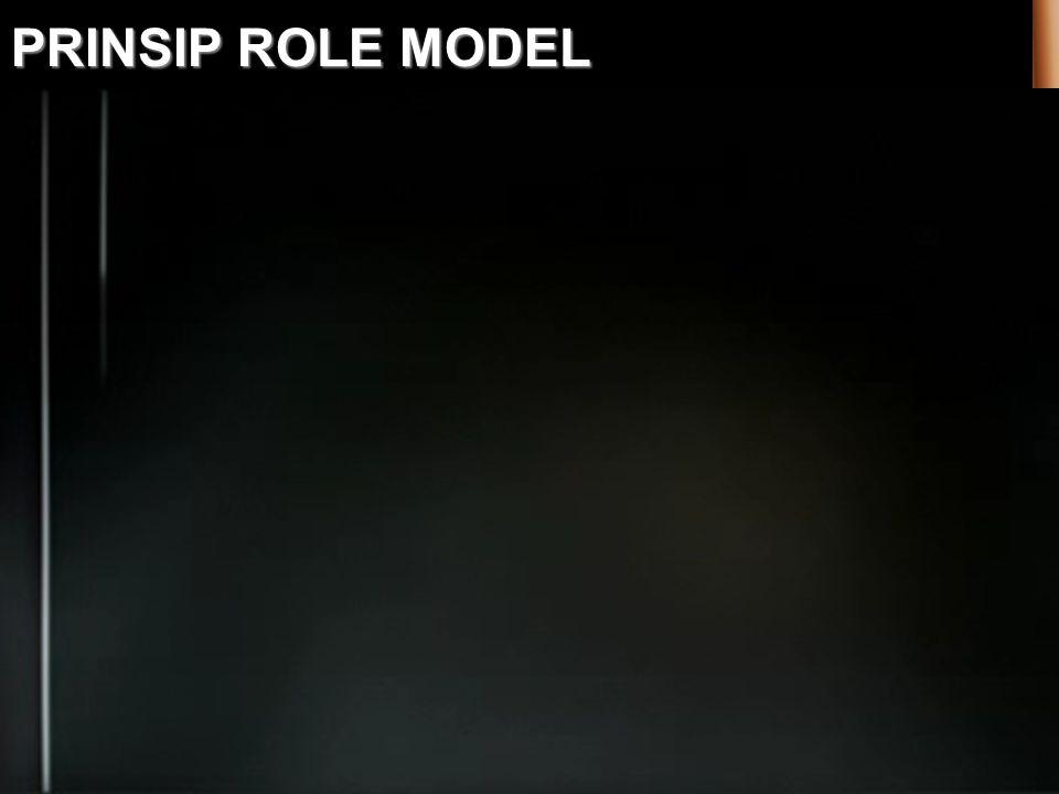 PRINSIP ROLE MODEL