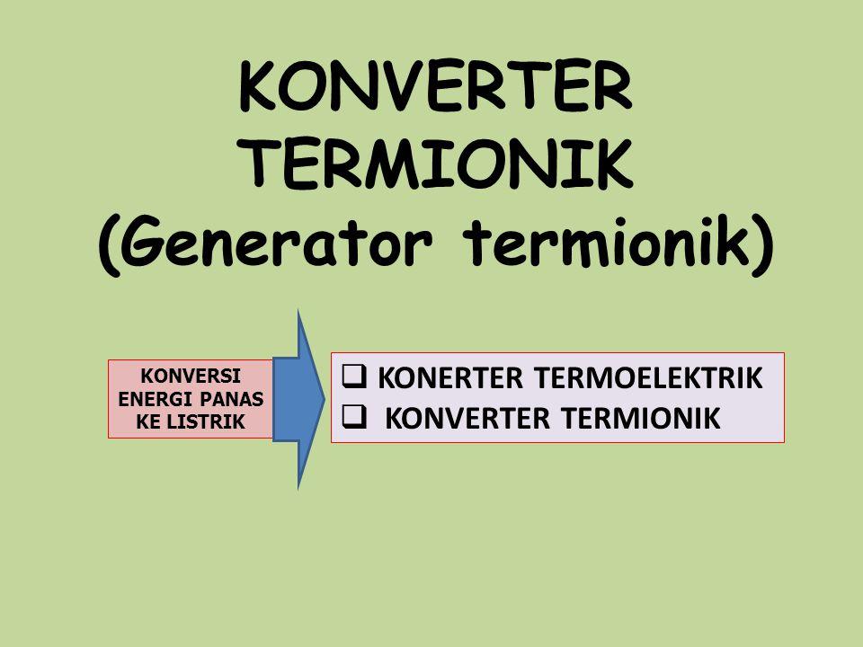 (Generator termionik)