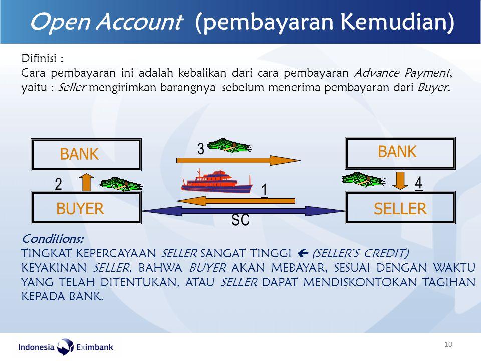 Open Account (pembayaran Kemudian)