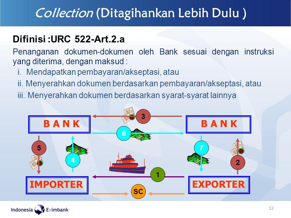Collection (Ditagihankan Lebih Dulu )