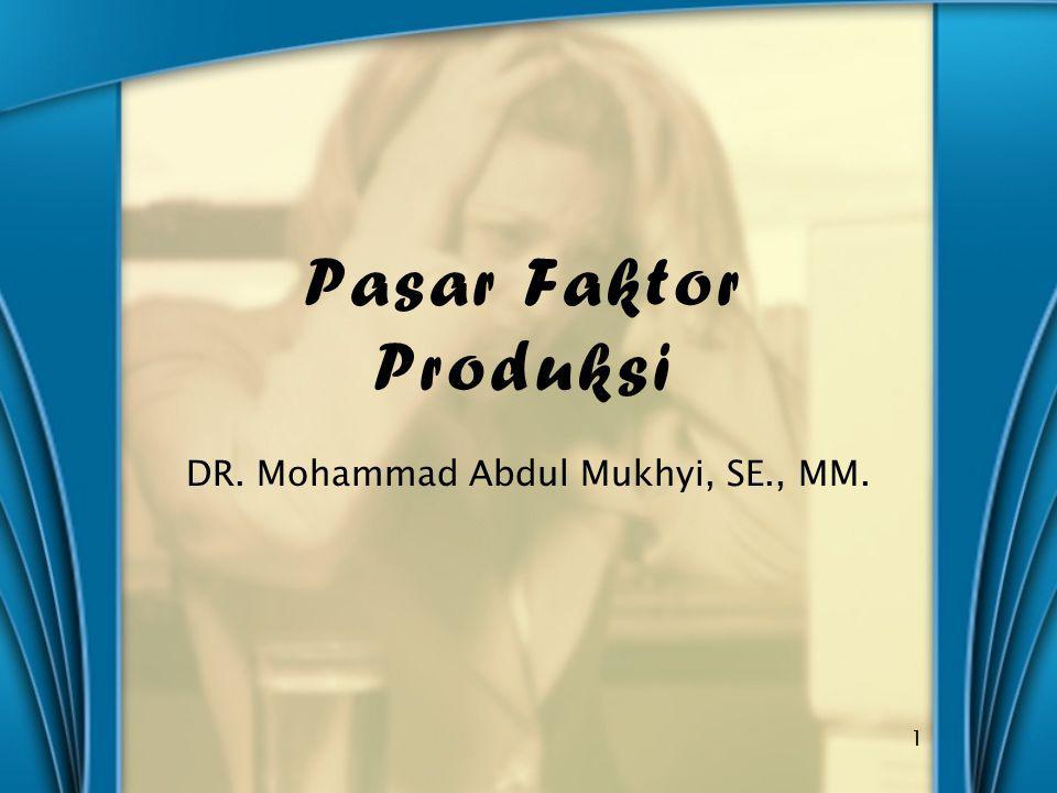 DR. Mohammad Abdul Mukhyi, SE., MM.