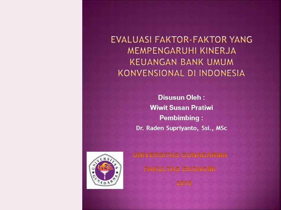 Dr. Raden Supriyanto, Ssi., MSc UNIVERSITAS GUNADARMA
