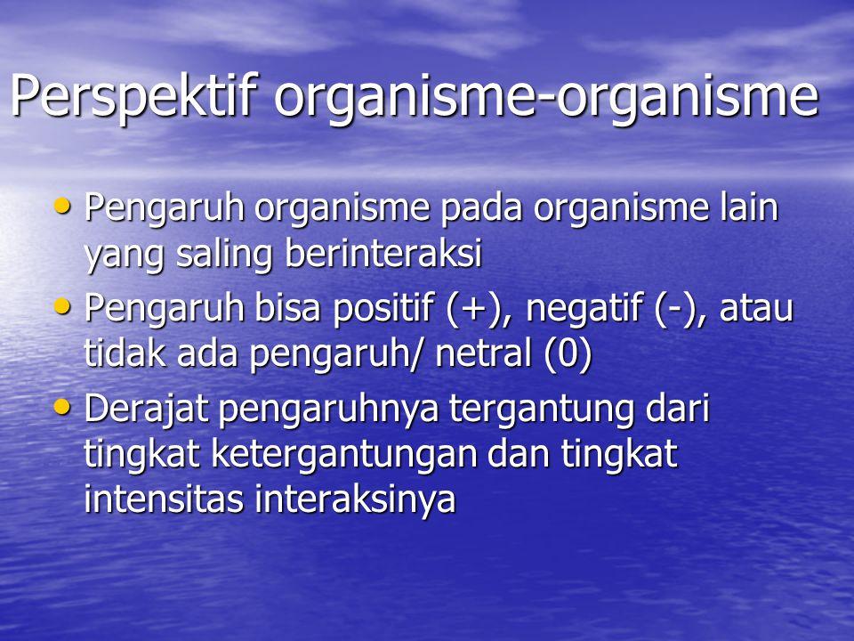 Perspektif organisme-organisme