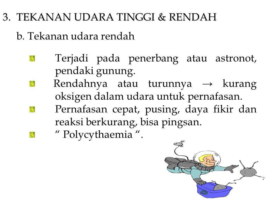3. TEKANAN UDARA TINGGI & RENDAH