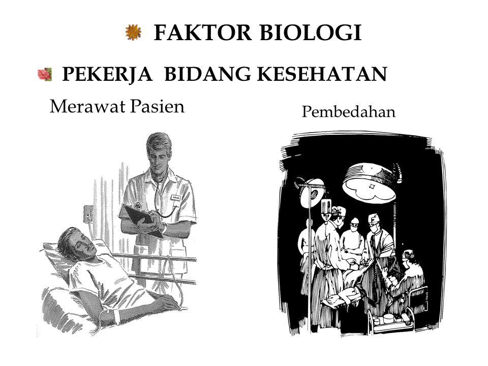 FAKTOR BIOLOGI PEKERJA BIDANG KESEHATAN Pembedahan Merawat Pasien