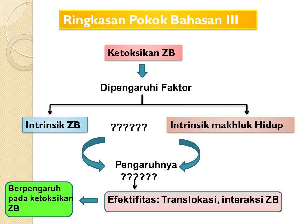 Ringkasan Pokok Bahasan III