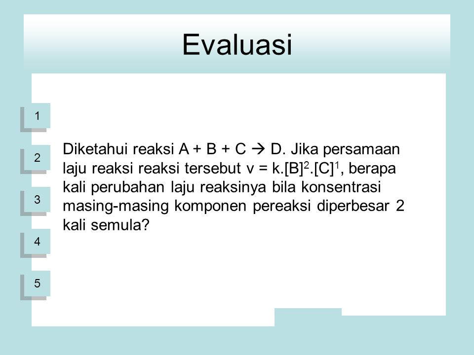Evaluasi 1.