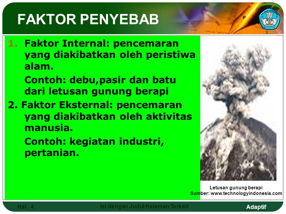 Sumber: www.technologyindonesia.com Isi dengan Judul Halaman Terkait