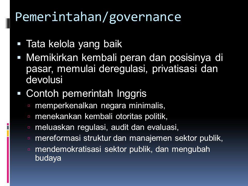 Pemerintahan/governance