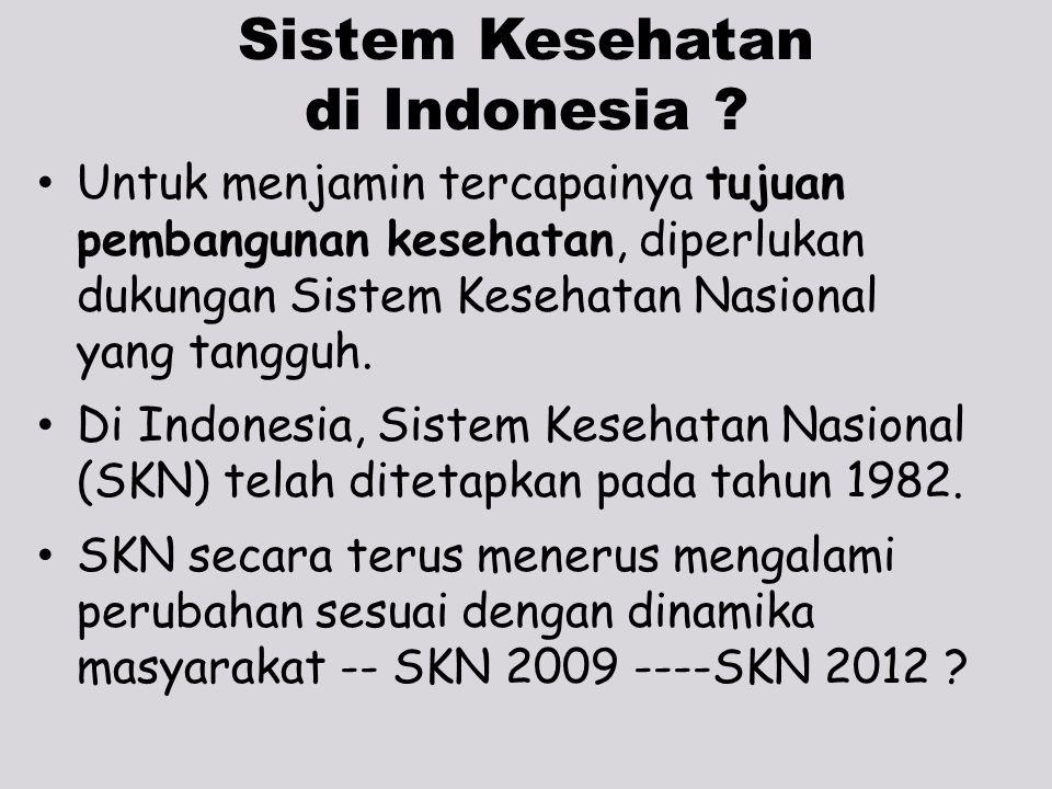 Sistem Kesehatan di Indonesia