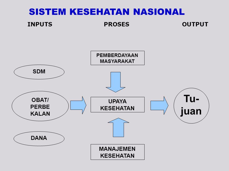 SISTEM KESEHATAN NASIONAL