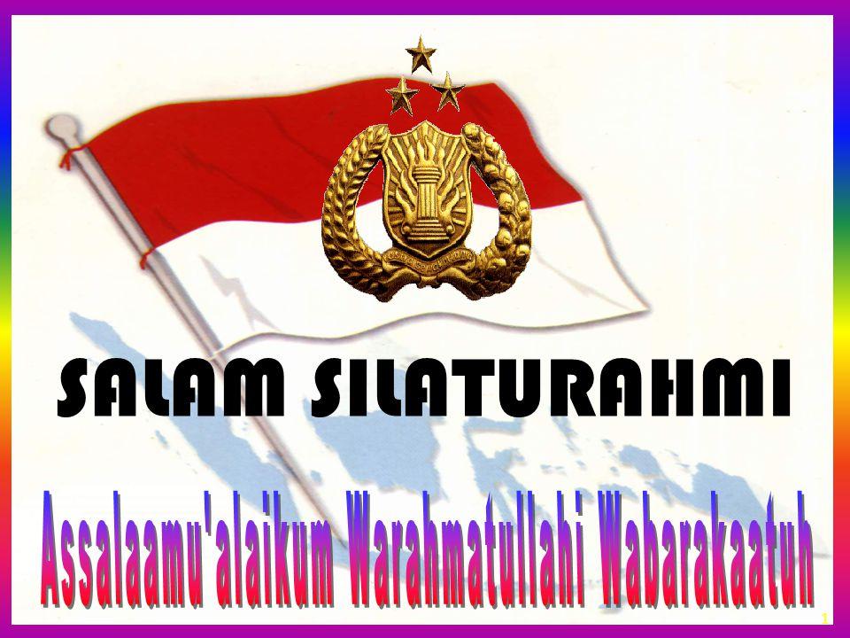 Assalaamu alaikum Warahmatullahi Wabarakaatuh