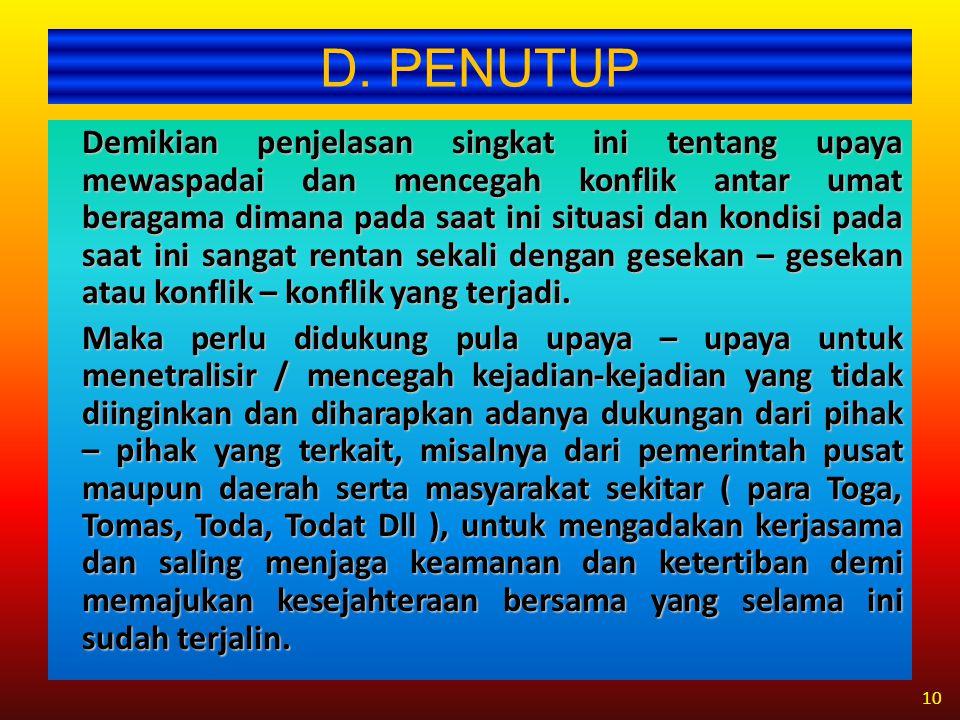 D. PENUTUP