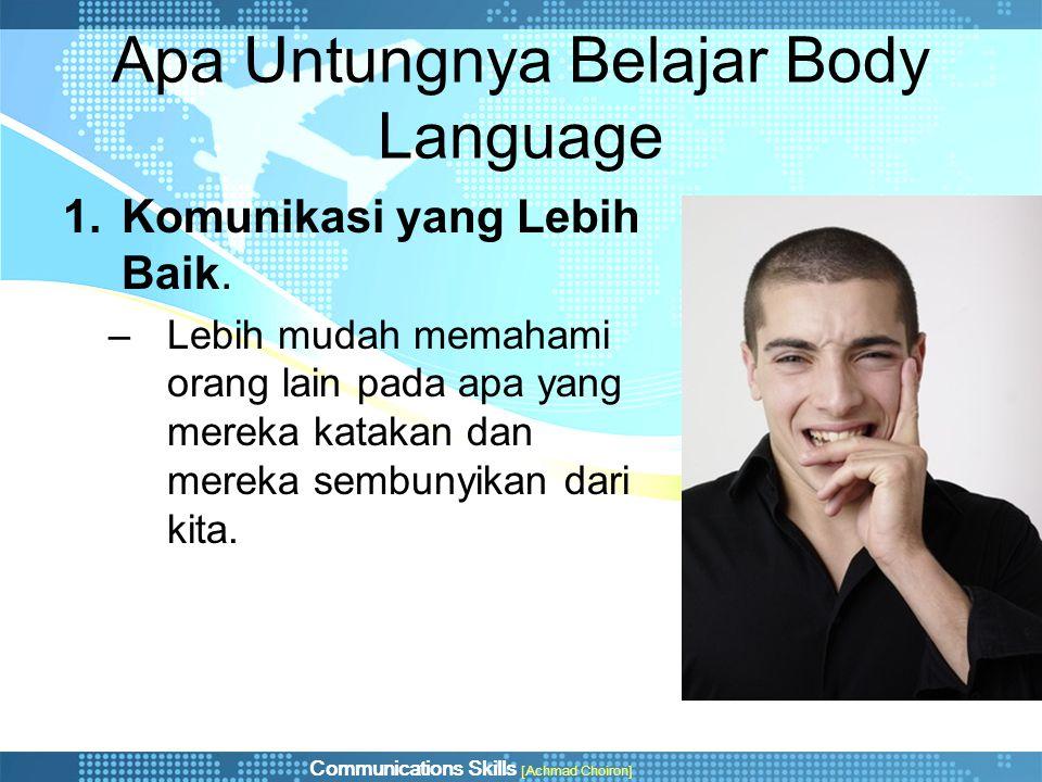 Apa Untungnya Belajar Body Language