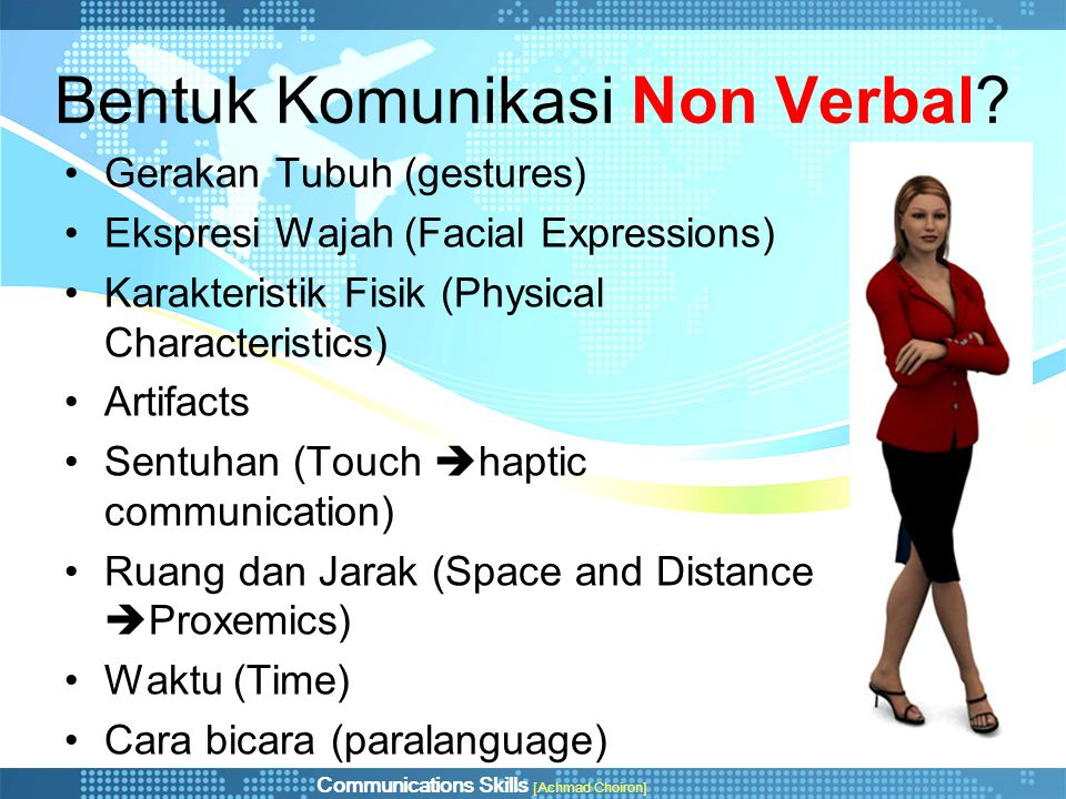Bentuk Komunikasi Non Verbal