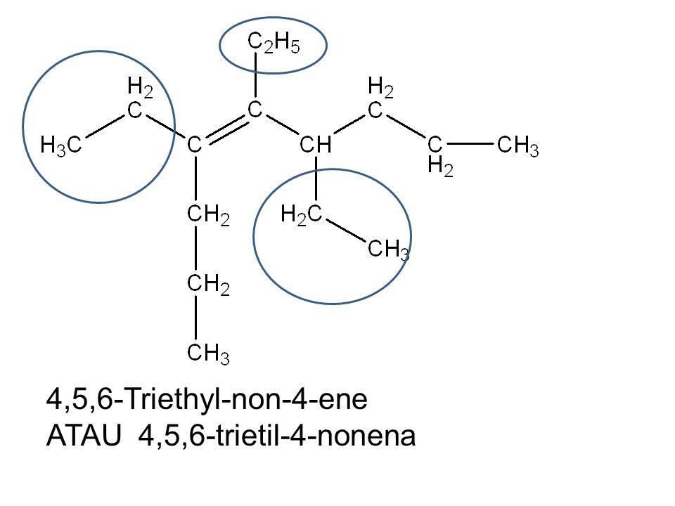 4,5,6-Triethyl-non-4-ene ATAU 4,5,6-trietil-4-nonena