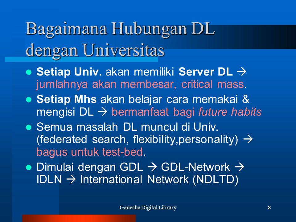 Bagaimana Hubungan DL dengan Universitas