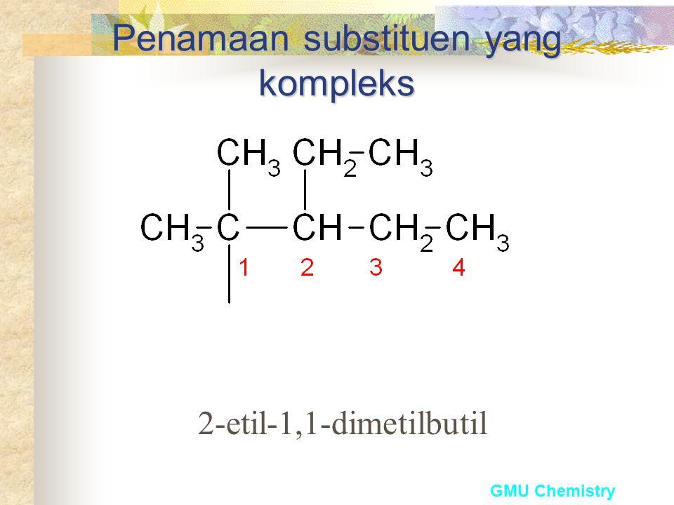 Penamaan substituen yang kompleks