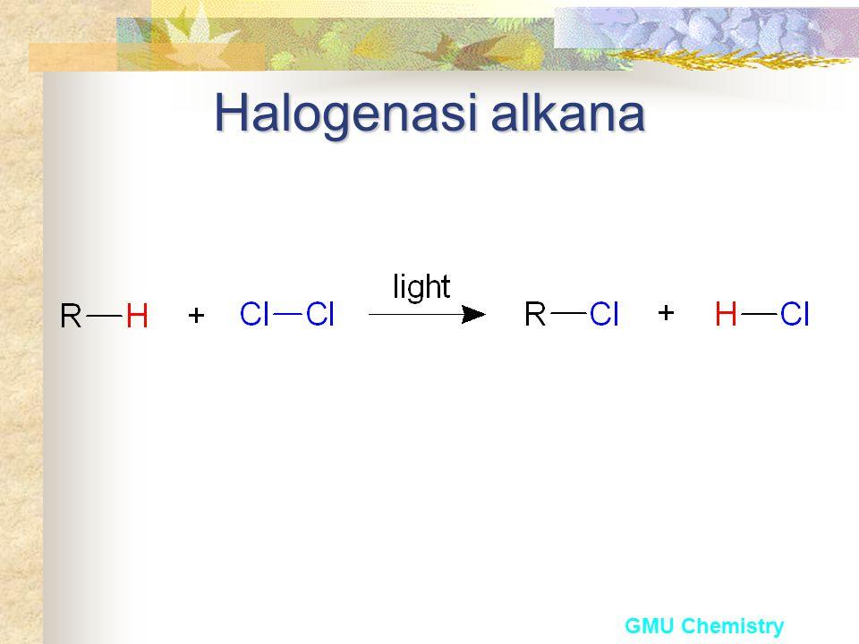 Halogenasi alkana GMU Chemistry
