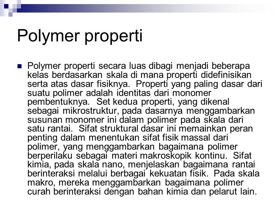 Polymer properti