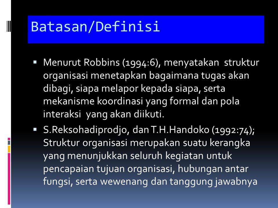 Batasan/Definisi
