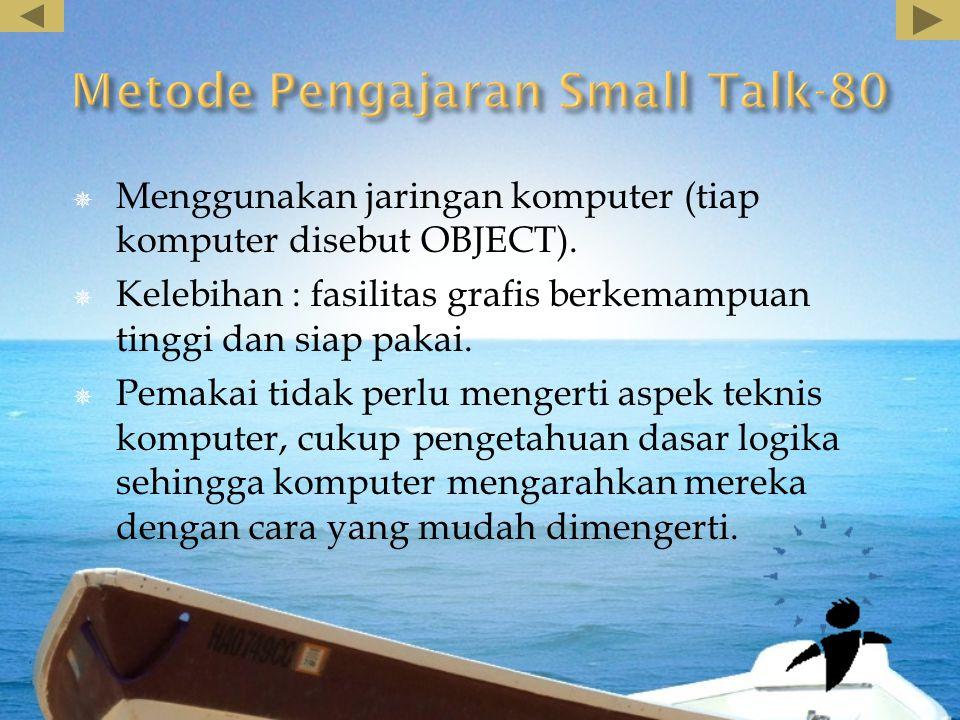 Metode Pengajaran Small Talk-80