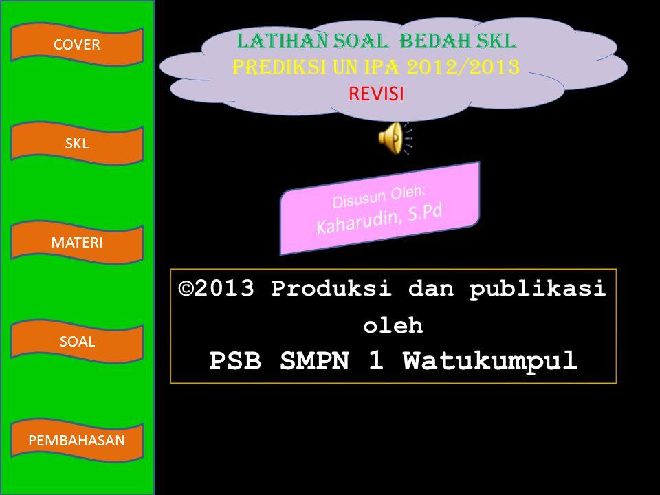 ©2013 Produksi dan publikasi oleh