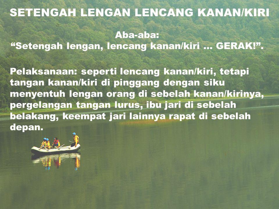 SETENGAH LENGAN LENCANG KANAN/KIRI