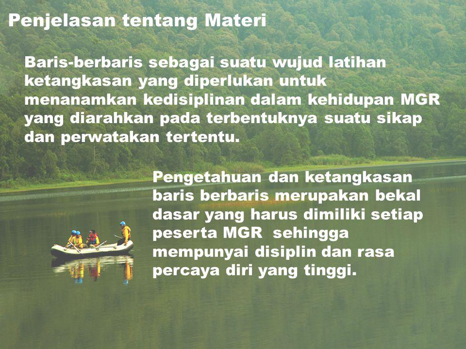 Penjelasan tentang Materi