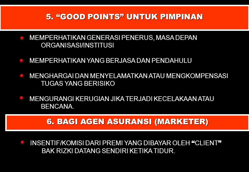 5. GOOD POINTS UNTUK PIMPINAN