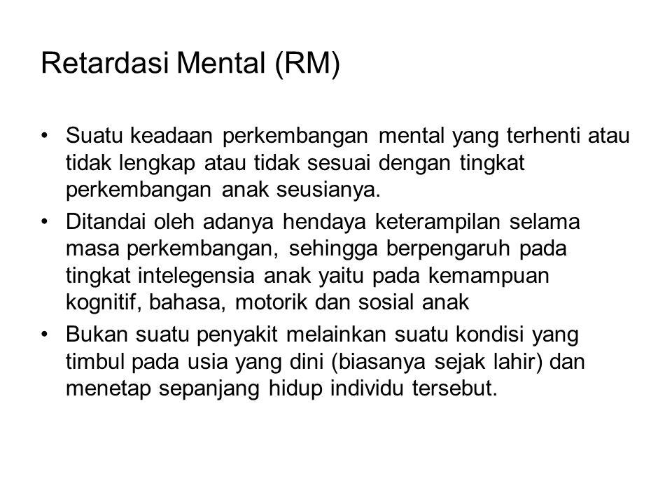 Retardasi Mental (RM)