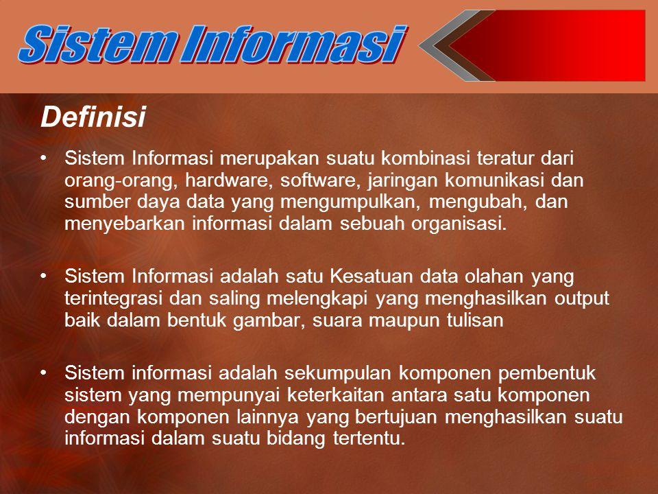 Sistem Informasi Definisi