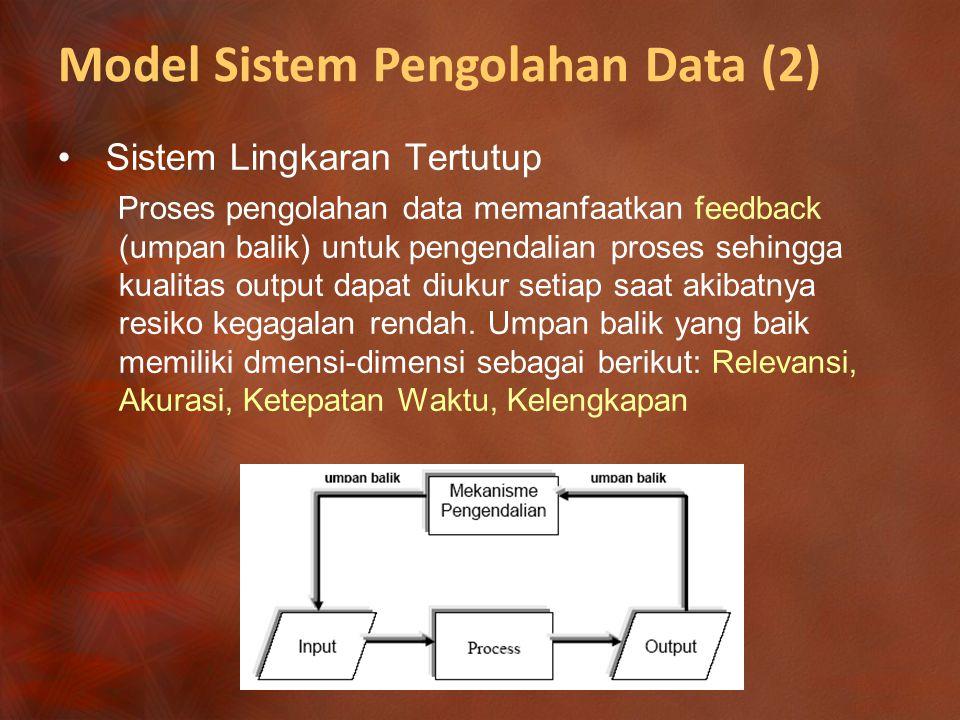 Model Sistem Pengolahan Data (2)