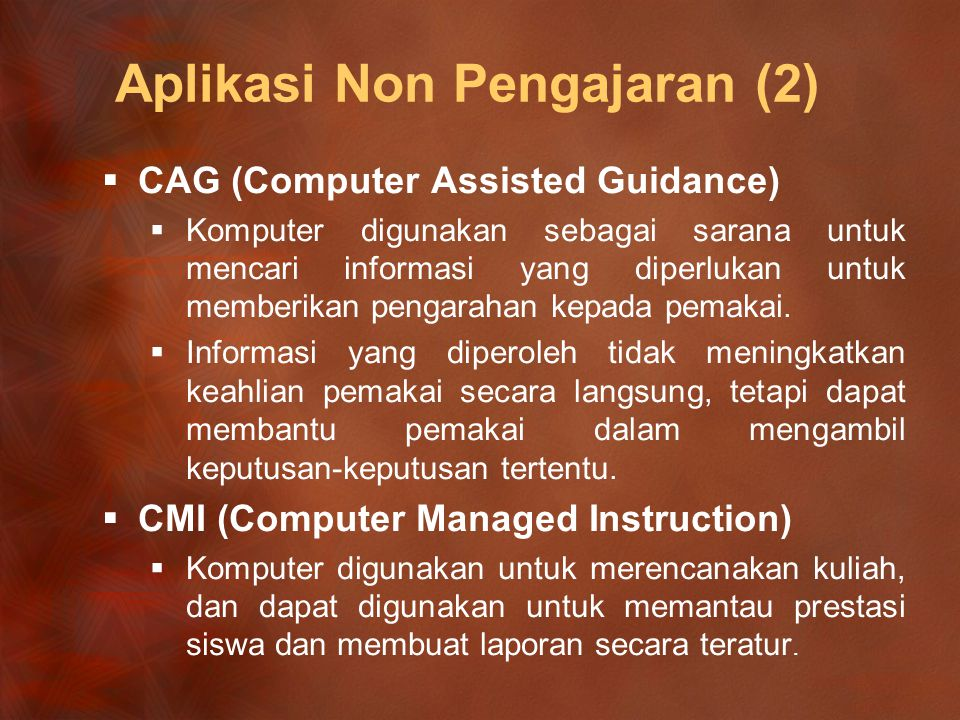Aplikasi Non Pengajaran (2)