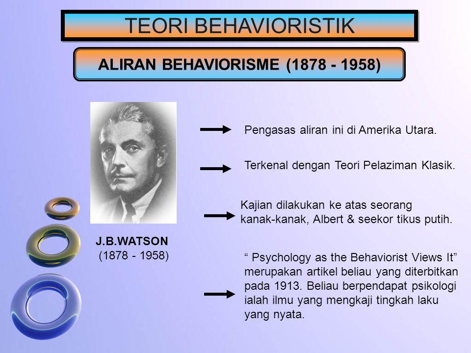 ALIRAN BEHAVIORISME (1878 - 1958)