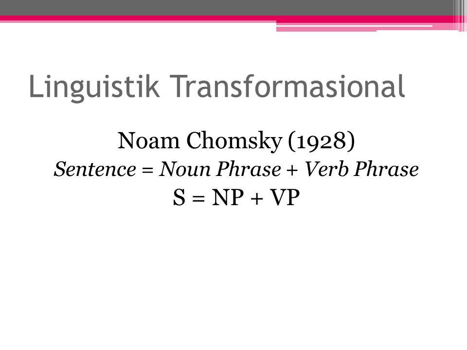 Linguistik Transformasional