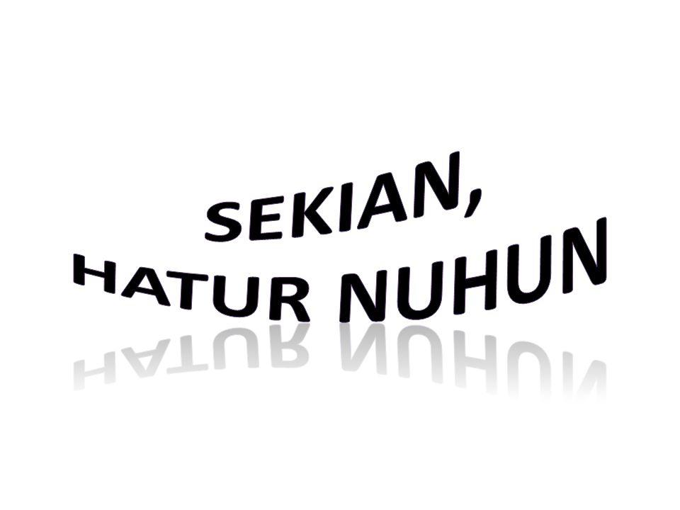 SEKIAN, HATUR NUHUN