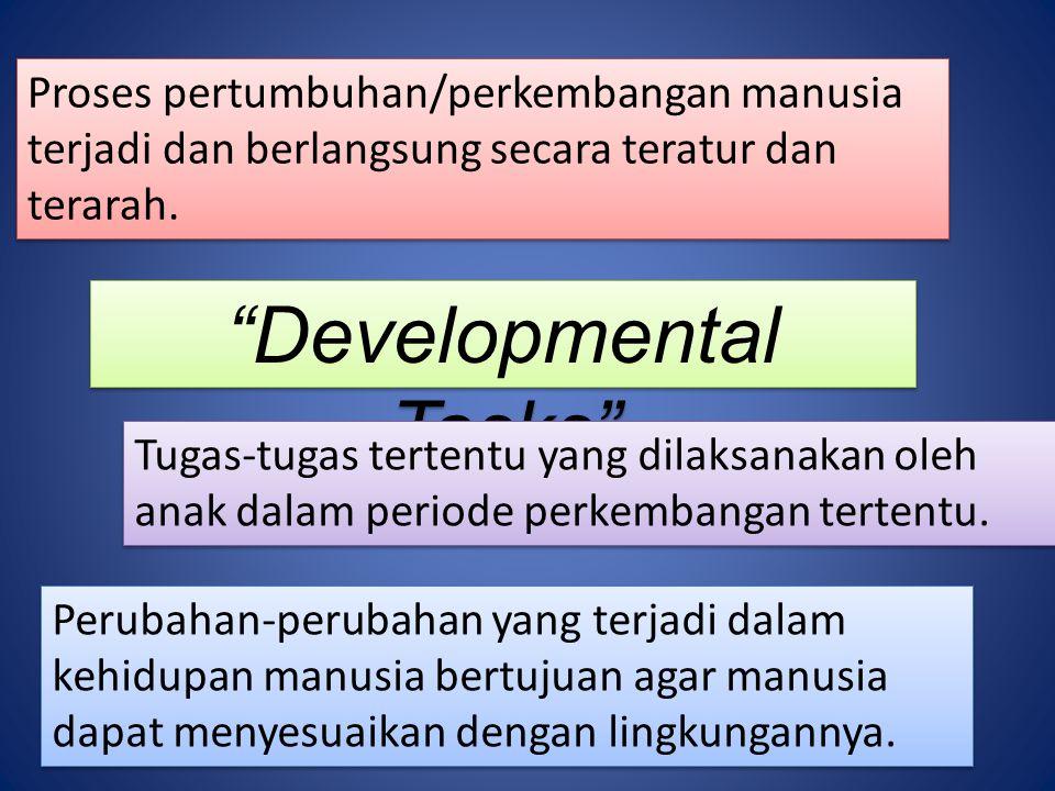 Developmental Tasks