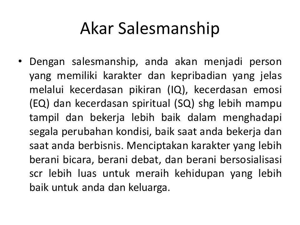 Akar Salesmanship