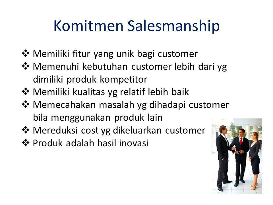 Komitmen Salesmanship
